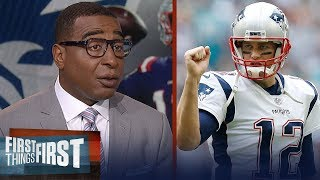 Cris & Nick react to Tom Brady's contract extension, talks Pats' dynasty | NFL | FIRST THINGS FIRST