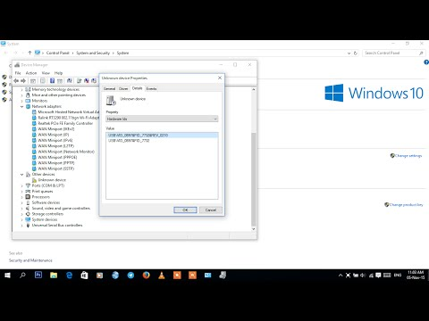 How to Download Unknown Device Driver on Windows 10.