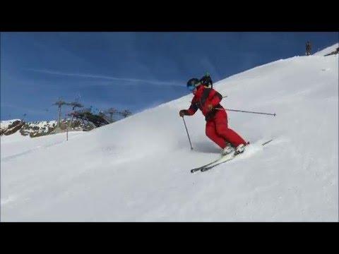 learn to ski short radius turns like pro 2015