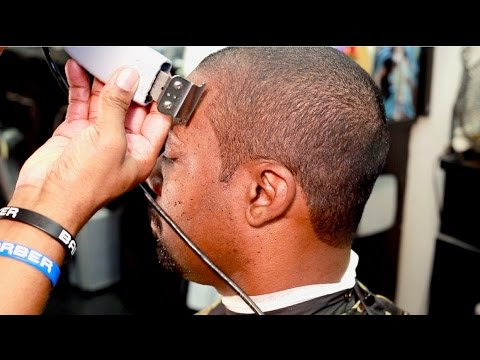 BARBER TUTORIAL: How To Cut A Even Haircut Against The Grain For Beginners - by Garrick Dixon