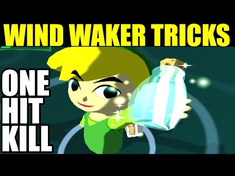 WIND WAKER TRICK: KILL FORBIDDEN WOODS BOSS WITH FOREST WATER (ONE HIT KILL)