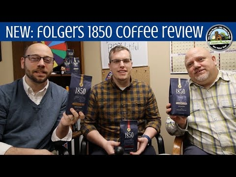 NEW Folgers 1850 Coffee: First Taste Review