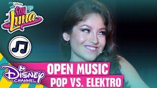 SOY LUNA - Open Music: Pop-Romanze vs. Electro-Hymne 🎶 | Disney Channel Songs 🎵