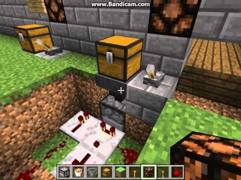 Minecraft Tutorial - Garbage Disposal