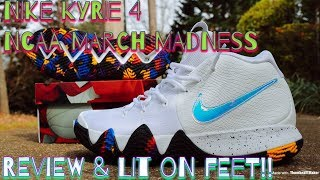 f392689dffb4 05 39 · NIKE KYRIE 4 NCAA MARCH MADNESS REVIEW   LIT ON FEET!!
