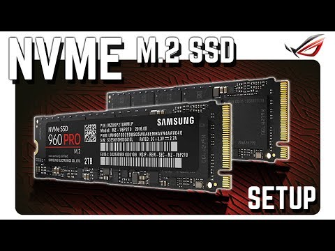 NVMe M.2 SSD Setup - Raid 0 an einem STRIX X299-E GAMING