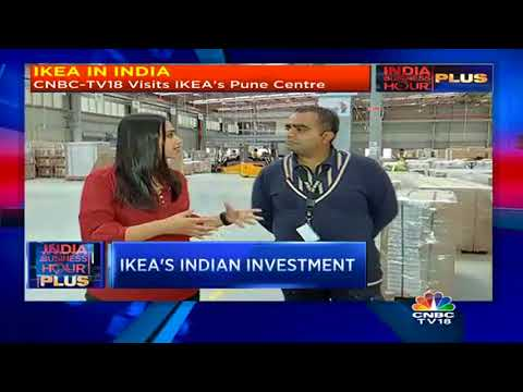 CNBC-TV18 Visits Ikea's Distribution Centre In Pune