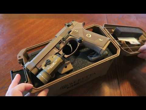 From the Safe:  Beretta M9A3