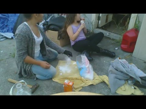 Water Bottle Explosion ( baking soda, water and dry ice)