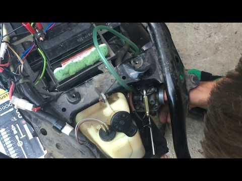 Yamaha Jog carburetor adjustment -