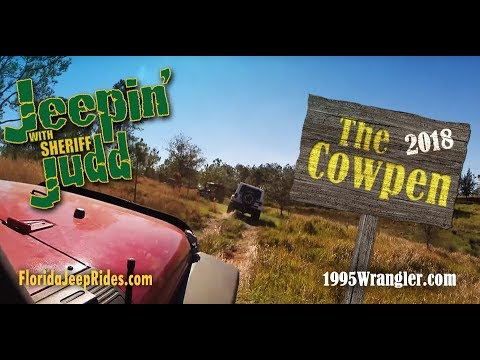 The Cow Pen Jeepin with Judd 2018 test runs with The Orlando Jeep Club