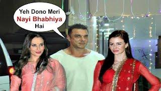 Sohail Khan With His New Bhabhi