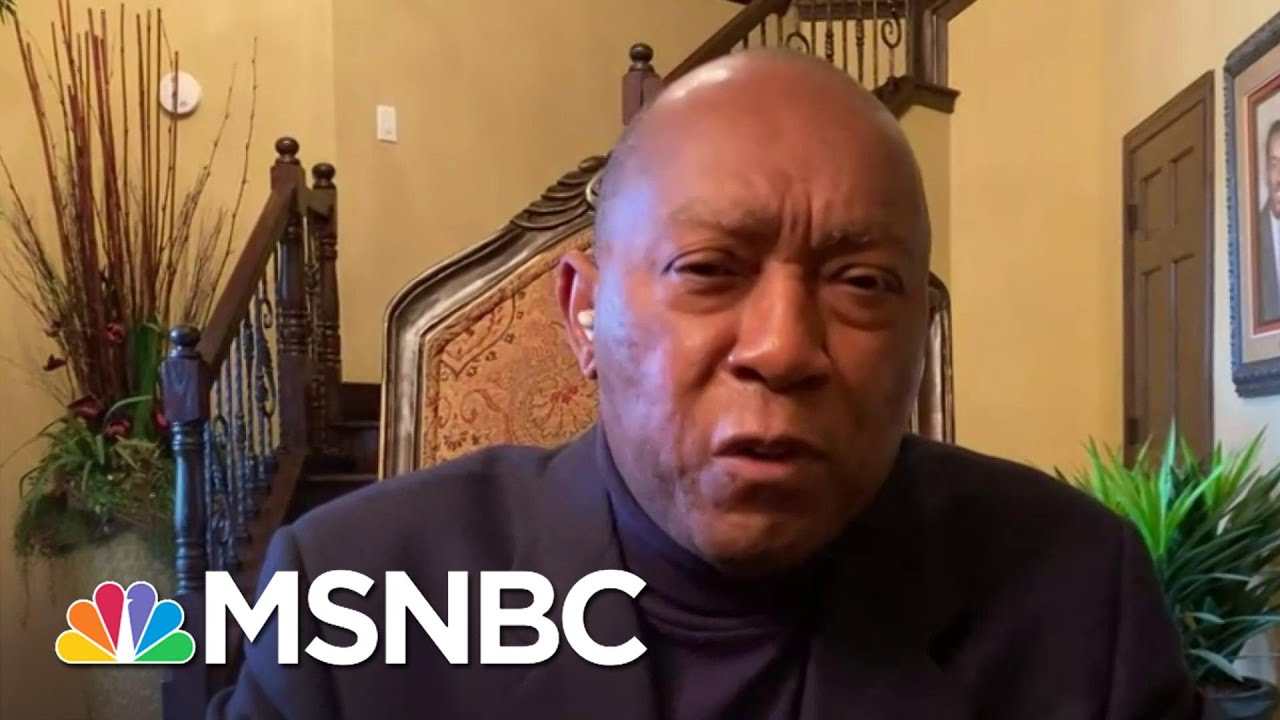 Houston Mayor Says Gov. Abbott Hasn't Reached Out Since TX Crisis Started | Stephanie Ruhle | MSNBC