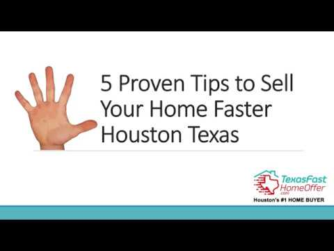 5 Proven Tips to Sell Your Home Faster Houston Texas