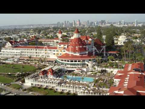 Hotel del Coronado Aerial Stock Footage and Videos | DCA08_213