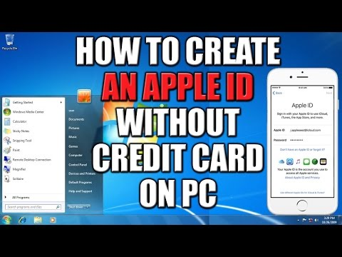 How to Create Apple ID Without Credit Card on PC 2016 - 101% Working Method