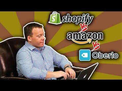 Drop Shipping on Shopify ➡️ Amazon vs. Oberlo vs. Domestic Suppliers
