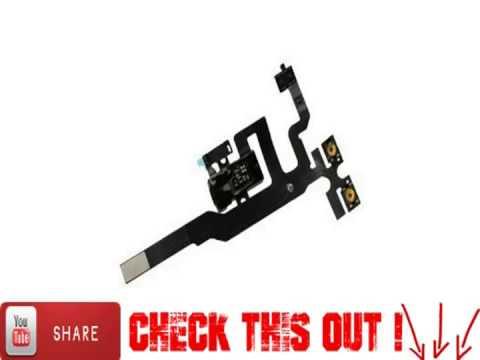 iPhone 4S 4GS Headphone Audio Jack Power Flex Ribbon Cable Replacement