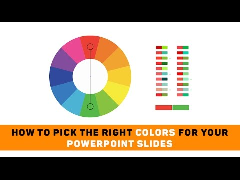 How to Pick the Right Colors for Your Powerpoint Slides