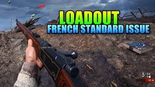 Loadout - French Standard Issue Lebel 1886 Infantry | Battlefield 1 Sniper Gameplay