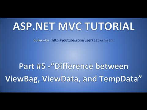 Part 5 - Difference between ViewBag and Viewdata and TempData | Peak and Keep