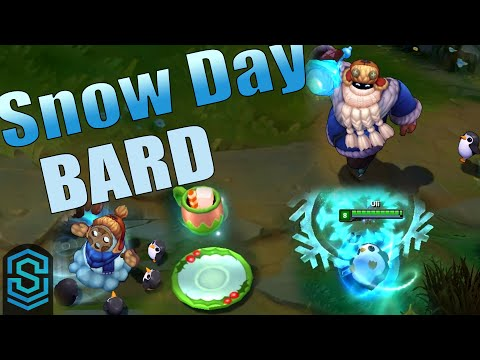 Snow Day Bard Skin Spotlight - League of Legends