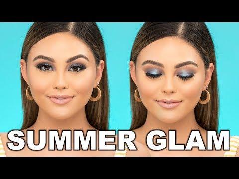 SUMMER GLAM MAKEUP TUTORIAL | Roxette Arisa