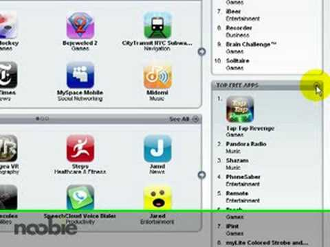 Downloading an iPhone or iPod Touch App from the App Store