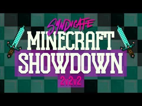 The Minecraft 2v2v2 Showdown! Team Skinny B*tch Predators!