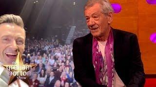Download Hugh Jackman Got 30,000 People To Sing Happy Birthday To Sir Ian McKellen | The Graham Norton Show Video