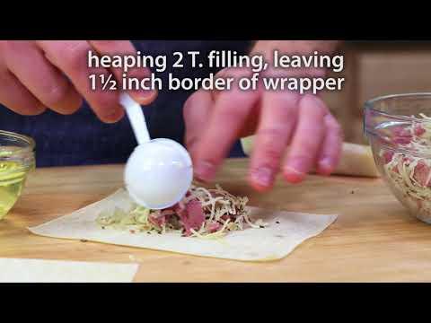 Reuben Egg Roll