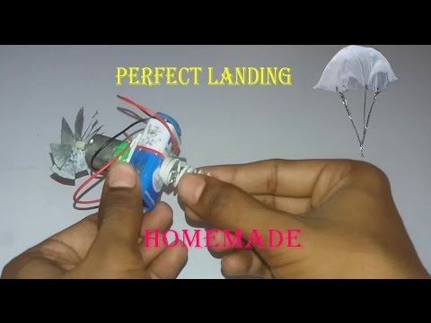 How to make parachute at home