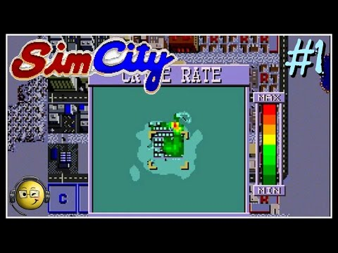 Let's Play Sim City (SNES) Part 1: Practice Mode with Dr Wright