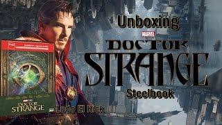 Unboxing Blu-ray steelbook Doctor Strange Fnac édition