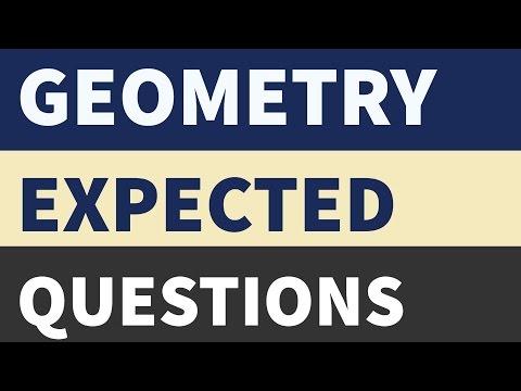Geometry For SSC CGL CHSL MTS CPO - Maths/Quantitative Aptitude Tricks and shortcuts