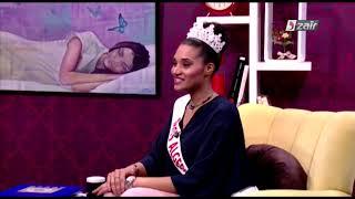 ملكة جمال الجزائر خديجة بن حمو أصبحت عالمية ؟