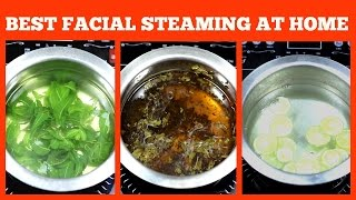 Get clear flawless skin /Facial steaming at home with DEMO