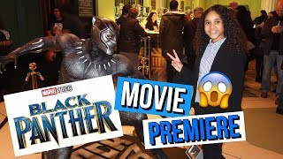 BLACK PANTHER EUROPEAN MOVIE PREMIERE ! | Inspiring Vanessa
