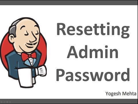 Jenkins CICD  | How to reset Jenkins Admin Password