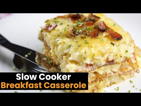 Delicious Slow Cooker Breakfast Caserole