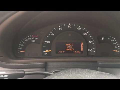 2002 Mercades C320 for $700
