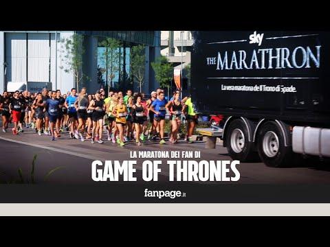 Milano, la maratona di Game of Thrones: i fan della serie corrono fino al Castello Sforzesco