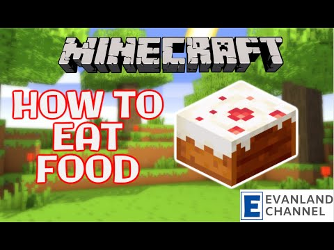 MINECRAFT | How to Eat Food in Minecraft | Hunger Levels