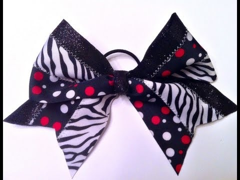 How To Make a Big Cheer Bow