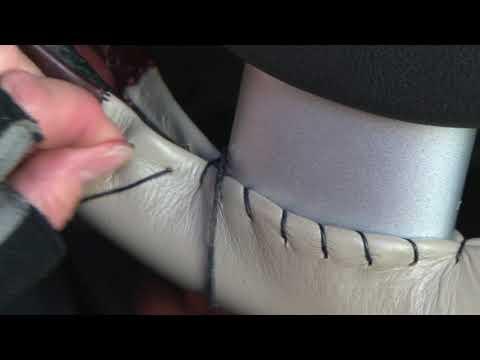 Installing A Wheelskins Steering Wheel Cover