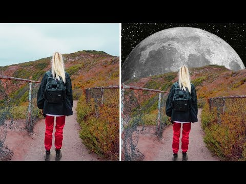 How to Make a Supermoon Edit | PicsArt Editing Tutorial
