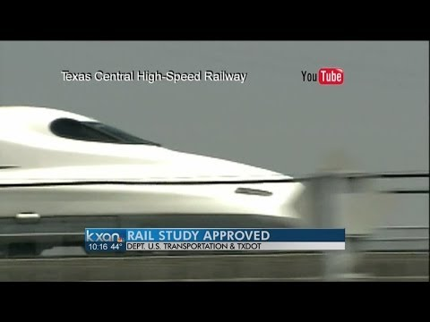 'Bullet train' would connect Dallas and Houston