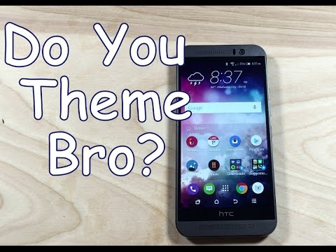 HTC ONE M9: Themes-You gotta try this! [How to]