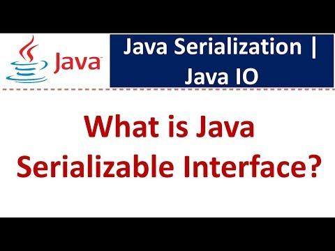 Java Tutorial : Java IO (Java Serializable Interface)