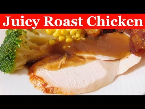 Roast Chicken crispy skin and Moist Chicken